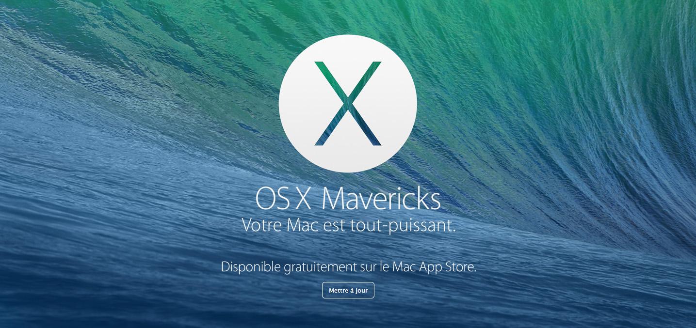 Mise à jour gratuite pour Mac OS X