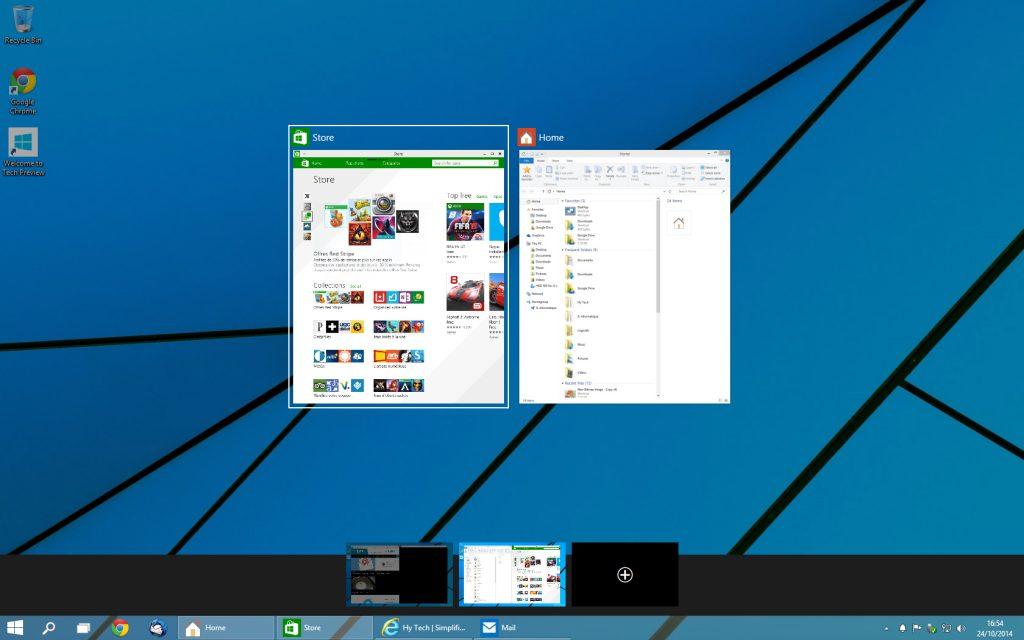 Windows 10 - bureaux virtuels 2