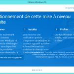 Informations sur Windows 10