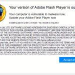 Fausse mise à jour Flash Player 04