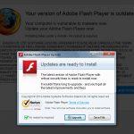 Fausse mise à jour Flash Player 05