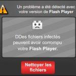Fausse mise à jour Flash Player 06