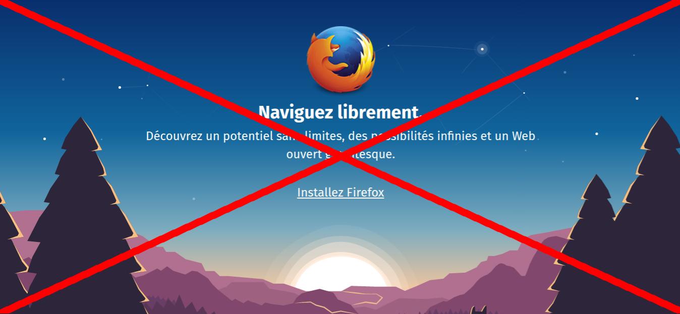 """Firefox aussi """"lâche"""" Windows XP et Windows Vista"""