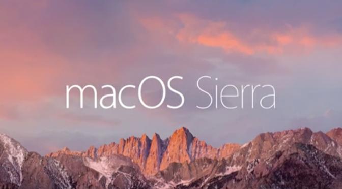 Dites adieu à Mac OS X